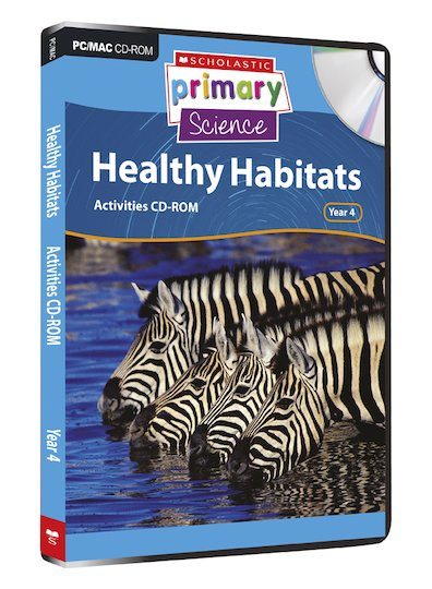 Living Organisms - Healthy Habitats Activities CD-ROM