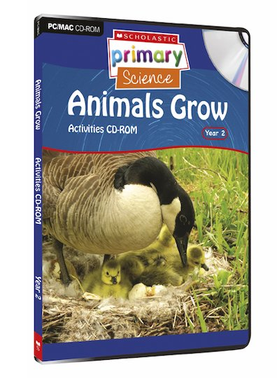 Living Organisms - Animals Grow Activities CD-ROM
