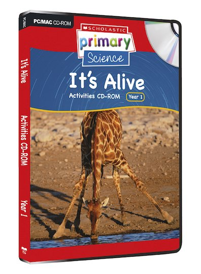 Living Organisms - It's Alive Activities CD-ROM