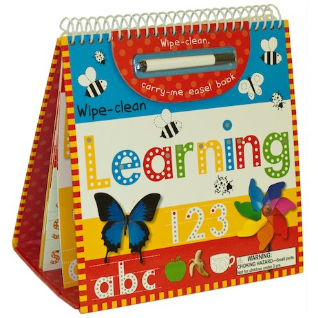 Wipe-Clean Learning Easel Book