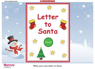 Letter to Santa game