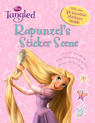 Tangled: Rapunzel's Sticker Scene