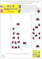 Ladybirddominoes act game 702986