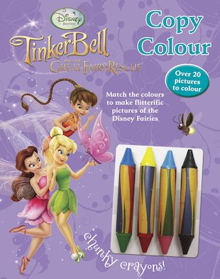 Disney Fairies: Tinker Bell and the Great Fairy Rescue: Copy Colour