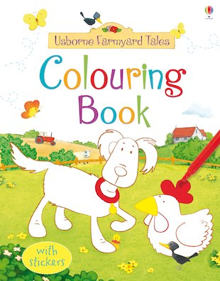 Farmyard Tales Colouring Book