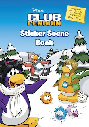 Club Penguin: Sticker Scene Book