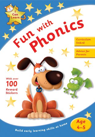 I Can Learn: Fun With Phonics (Ages 4-5)