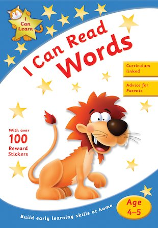 I Can Learn: I Can Read Words (Ages 4-5)