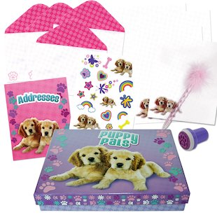Puppy Pals Stationery Box