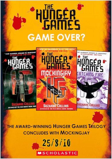 Hunger Games Trilogy poster