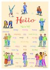 'Hello' foreign language poster