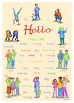 'Hello' foreign language poster (1 page)