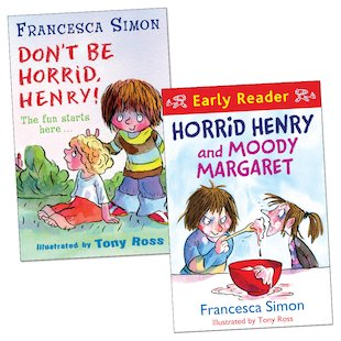 Horrid Henry Readers Pair