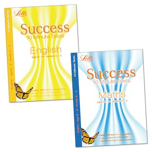 Letts Success 10 Minute Tests Pack: Ages 8-9