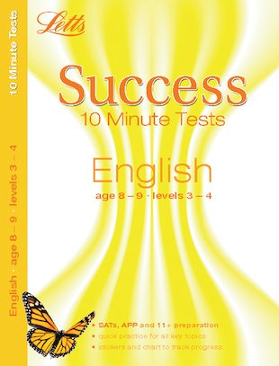 Letts Success 10 Minute Tests: English (Ages 8-9)