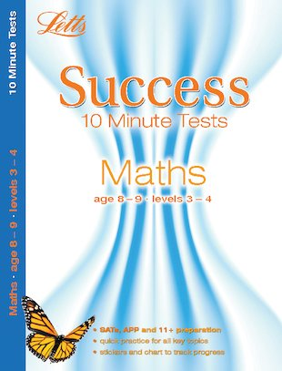 Letts Success 10 Minute Tests: Maths (Ages 8-9)