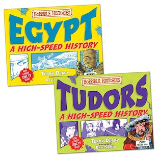 Horrible Histories: High-Speed History Pair