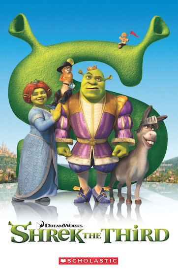 Shrek the Third (Book and CD)