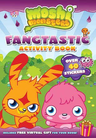 Moshi Monsters: Fangtastic Activity Book
