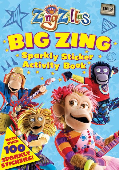 ZingZillas: Big Zing Sparkly Sticker Activity Book