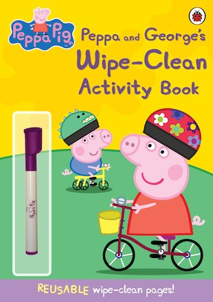 Peppa Pig: Wipe-Clean Activity Book