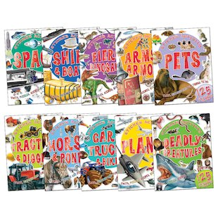 Favourite Topics Sticker Activity Pack