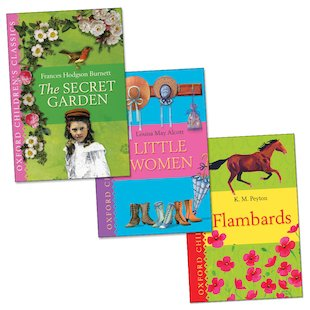 Classic Reads for Girls Trio