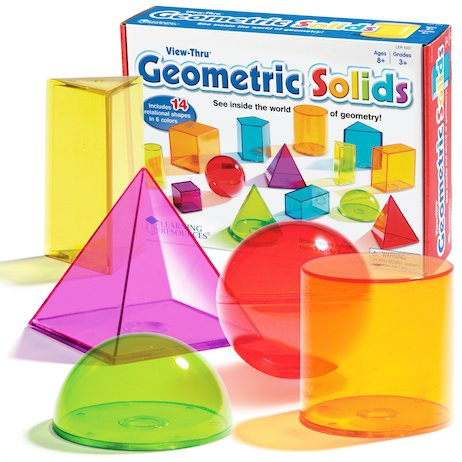 View-Thru Geometric Solids