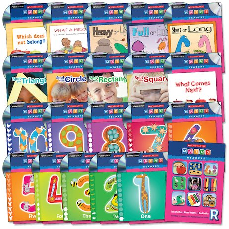 Maths Readers Reception: Easy-Buy Book and CD Packs