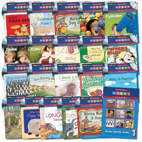 Maths Readers Year 1: Easy-Buy Book and CD Pack