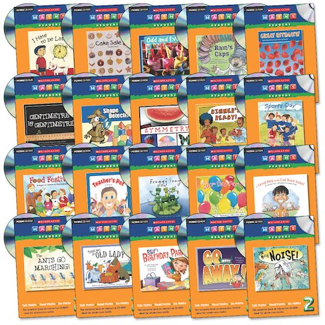 Maths Readers Year 2: Easy-Buy 20 CD's Pack