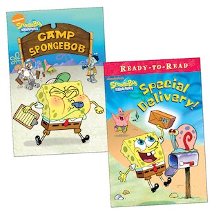 SpongeBob Readers Pair