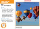 I spy… in the sky activity cards