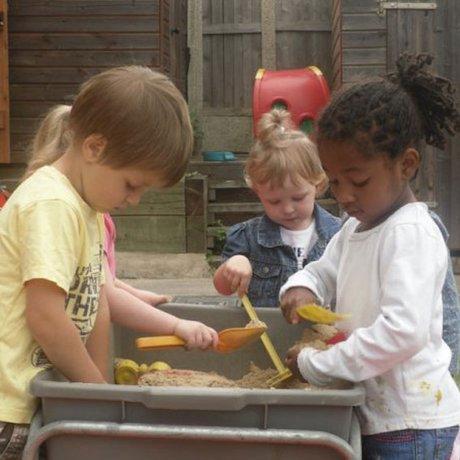 Children at Handsworth Pre-school