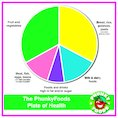 Healthy eating – plate of health poster