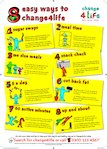 Healthy eating - healthy tips poster (1 page)