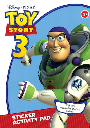 Toy Story 3: Sticker Activity Pad