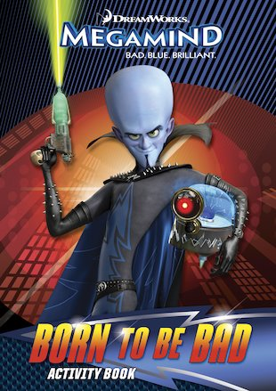 Megamind: Born to be Bad Activity Book