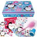 Penguin Pals Stationery Box