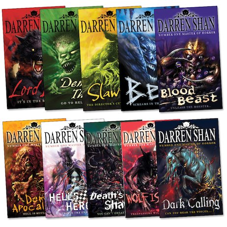 Darren Shan's Demonata Pack