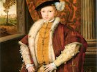 Edward VI crowned the King of England