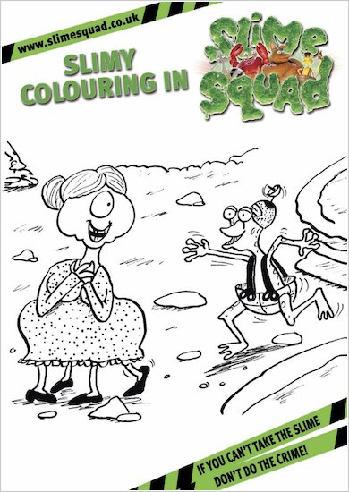 Slime Squad Colouring