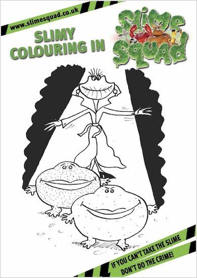 Slime Squad Colouring