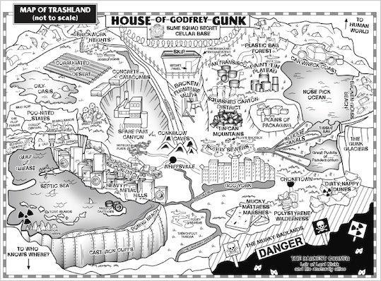Slime Squad Map