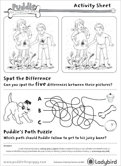 Puddle Puzzles