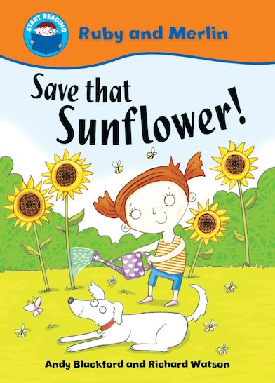 Ruby and Merlin - Save That Sunflower!