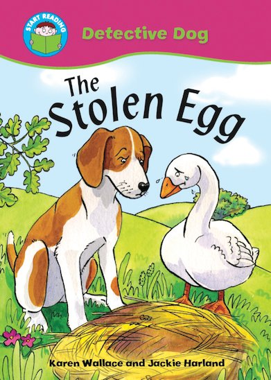 Detective Dog - The Stolen Egg