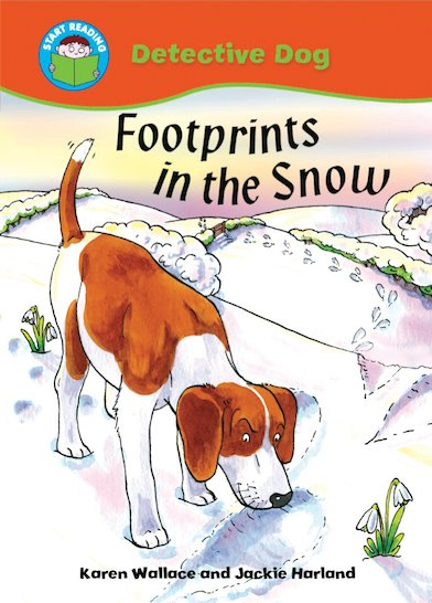 Detective Dog - Footprints in the Snow
