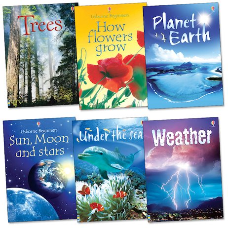 Usborne Beginners: Our Planet Pack