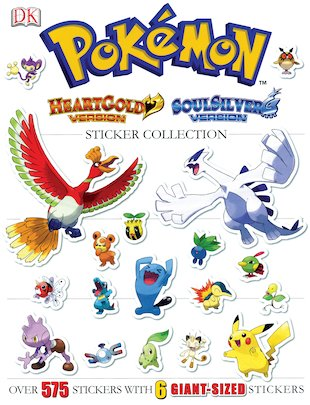 Pokémon: HeartGold and SoulSilver Ultimate Sticker Collection